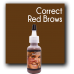 Pigment Color: Correct Red Brows